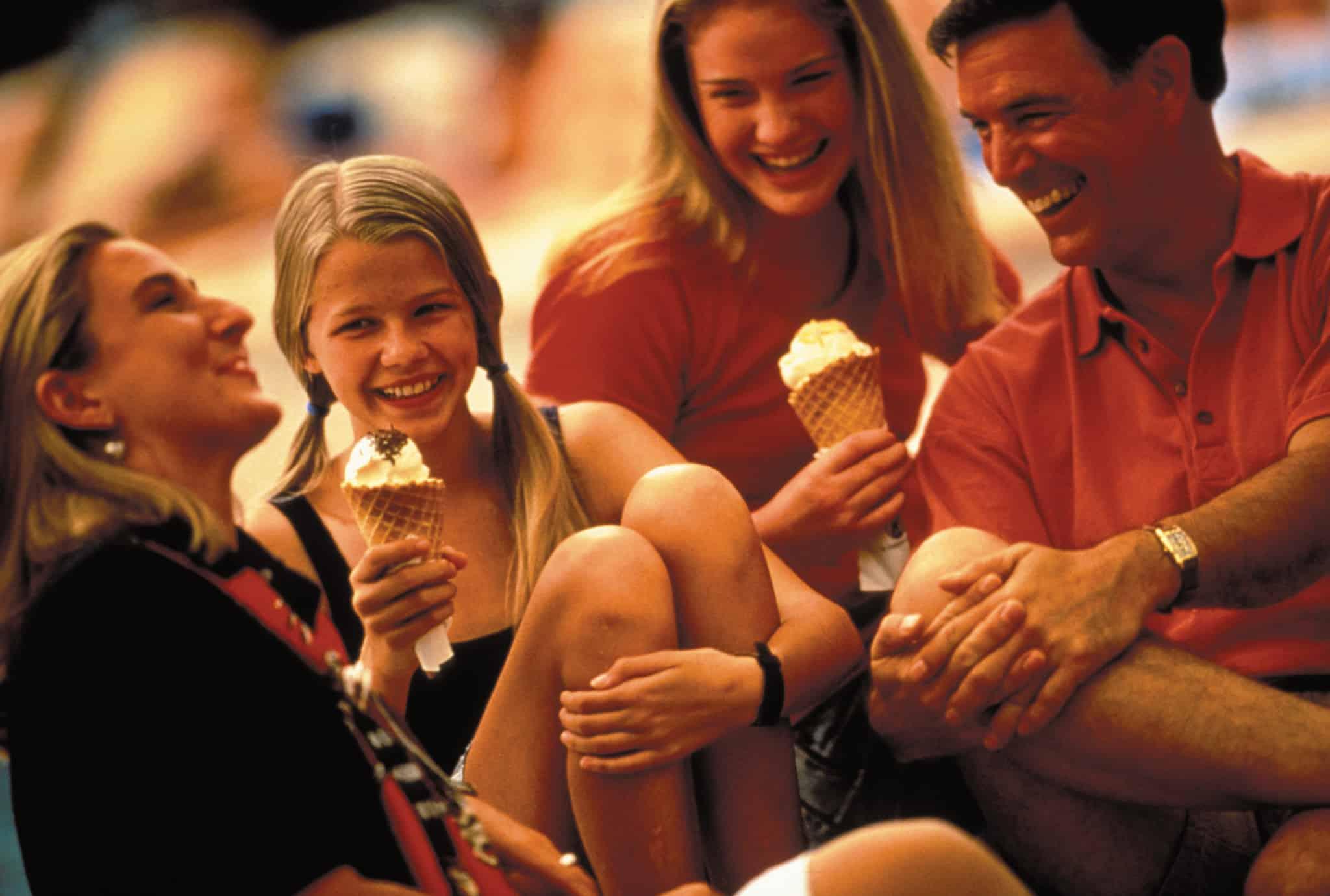 family cruise ice cream holland america