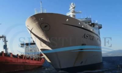 Cruise Ship Beached At Turkish Scrapyard [VIDEO]
