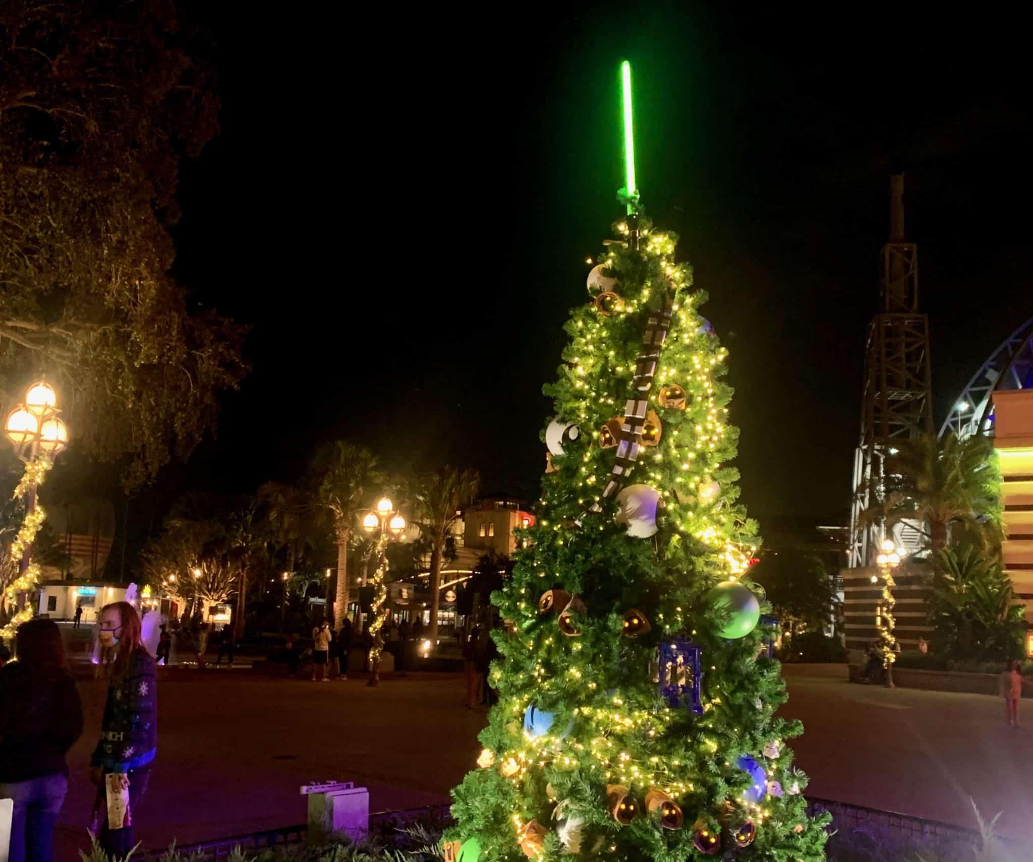 disney springs christmas tree stroll 2020 star wars