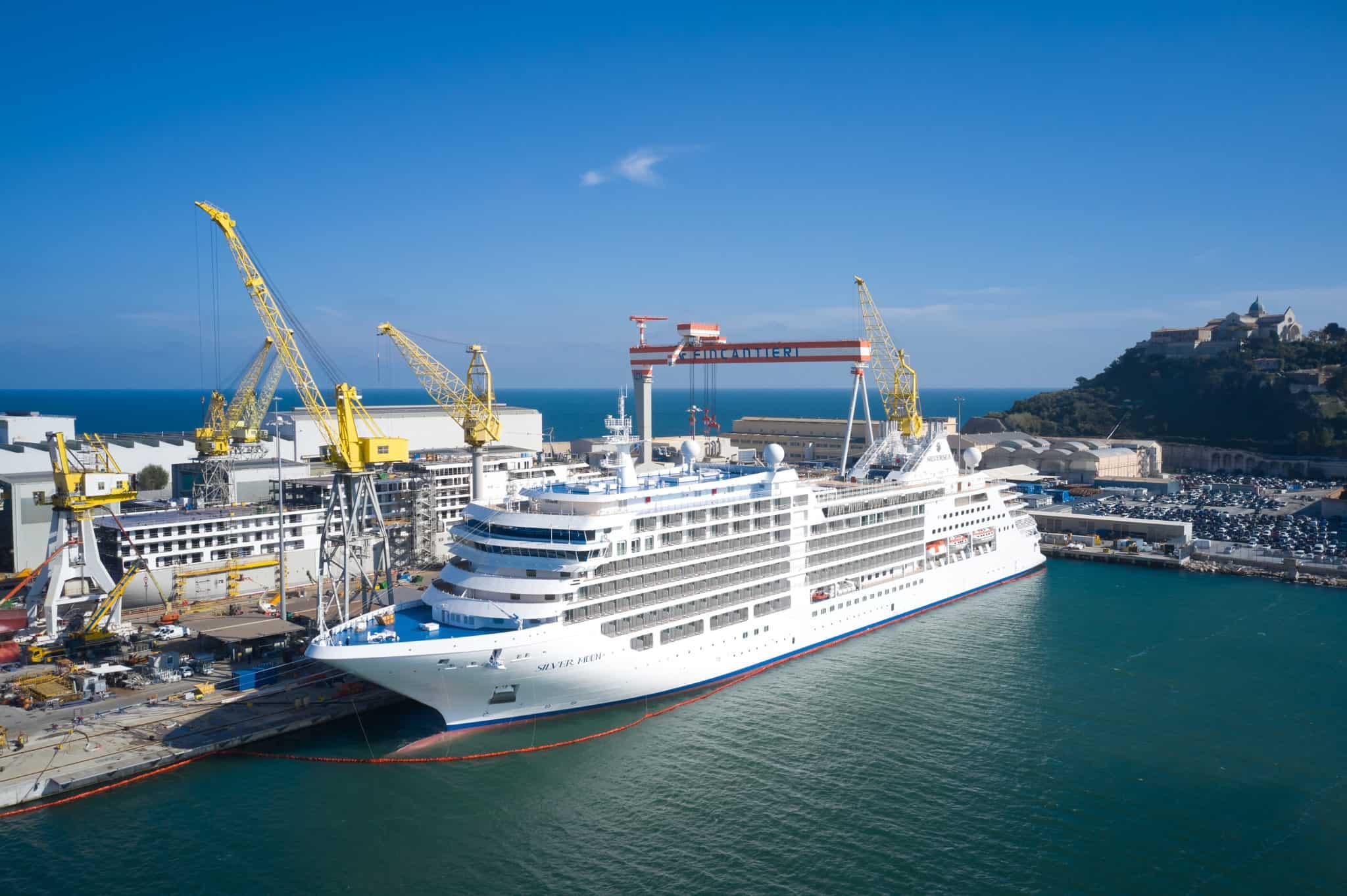 silversea cruises silver moon fincantieri