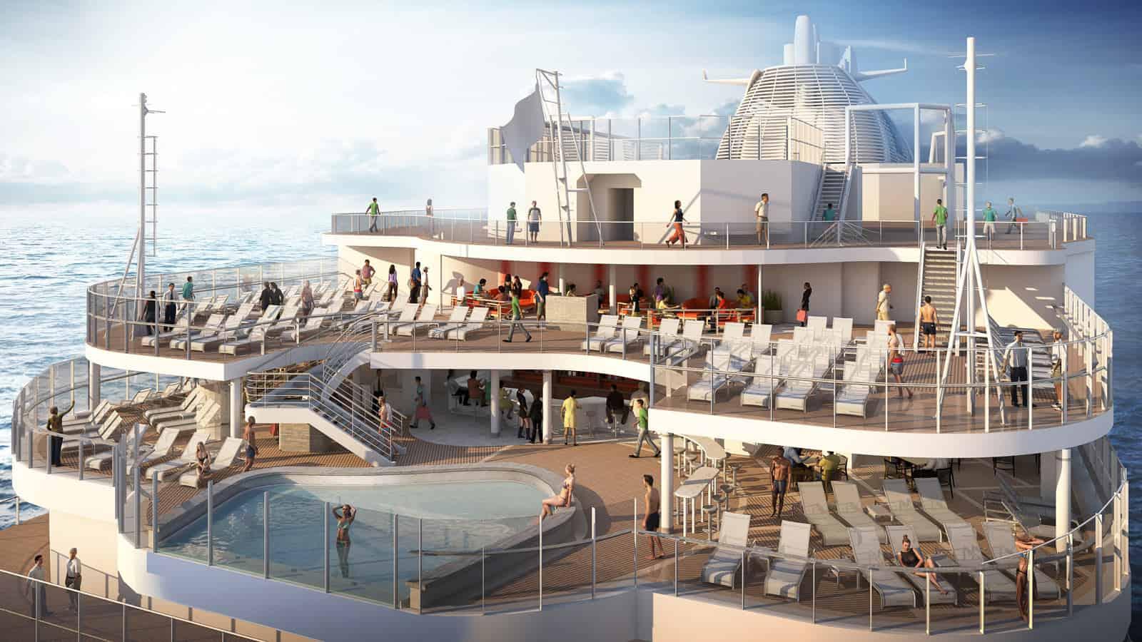 discovery princess aft pool deck rendering
