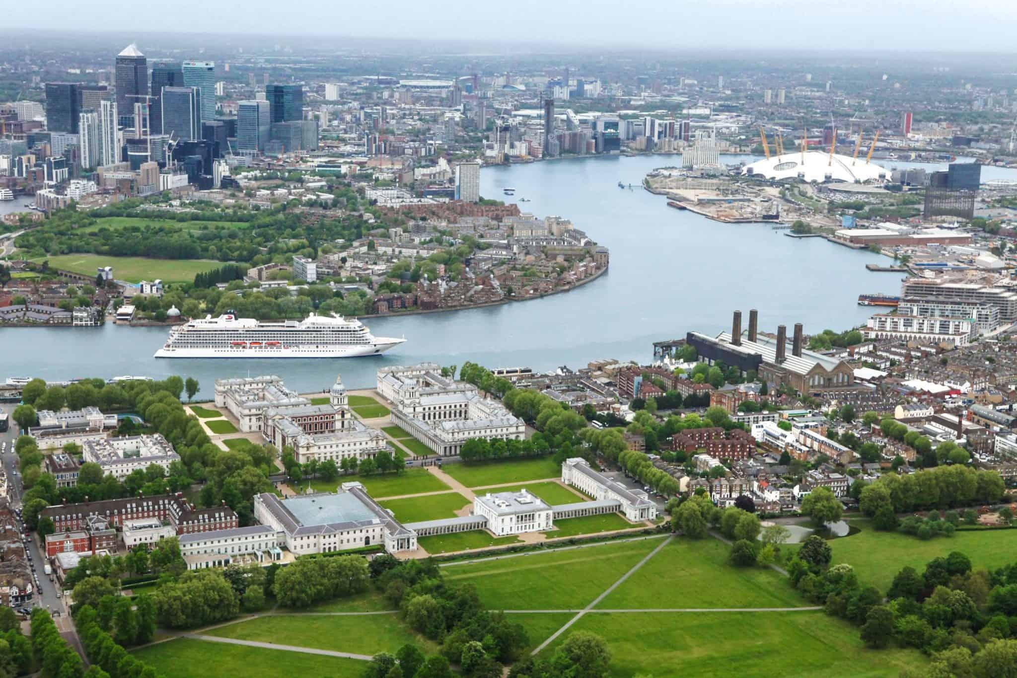 viking star london greenwich thames river