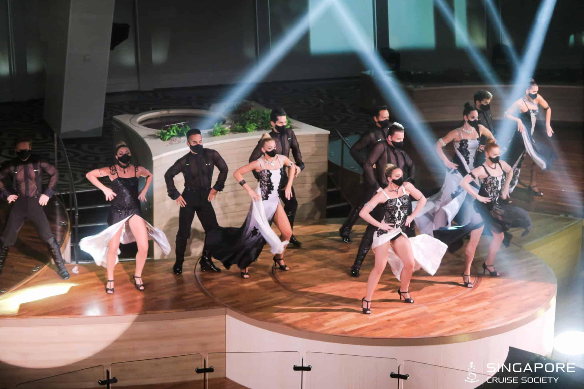 quantum of the seas singapore theater show