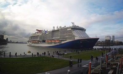 carnival cruise line mardi gras in rotterdam netherlands
