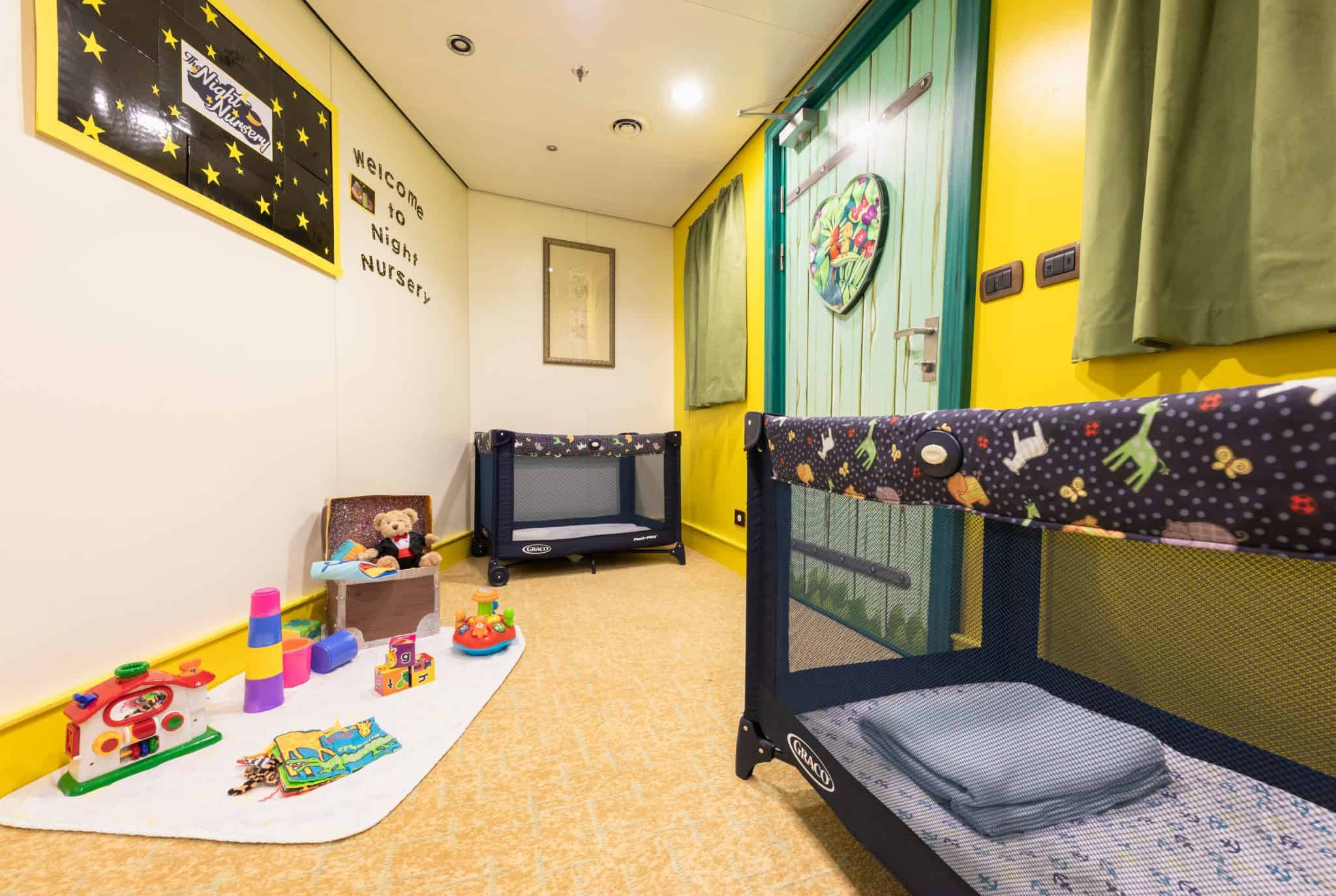 cunard night nursery