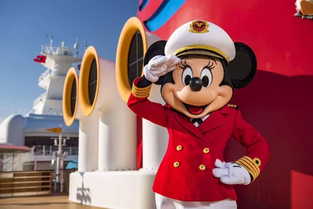 disney cruise line minnie