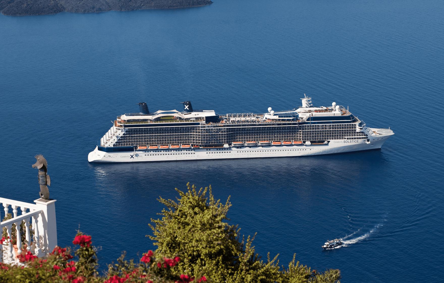 Celebrity Solstice santorini greece island