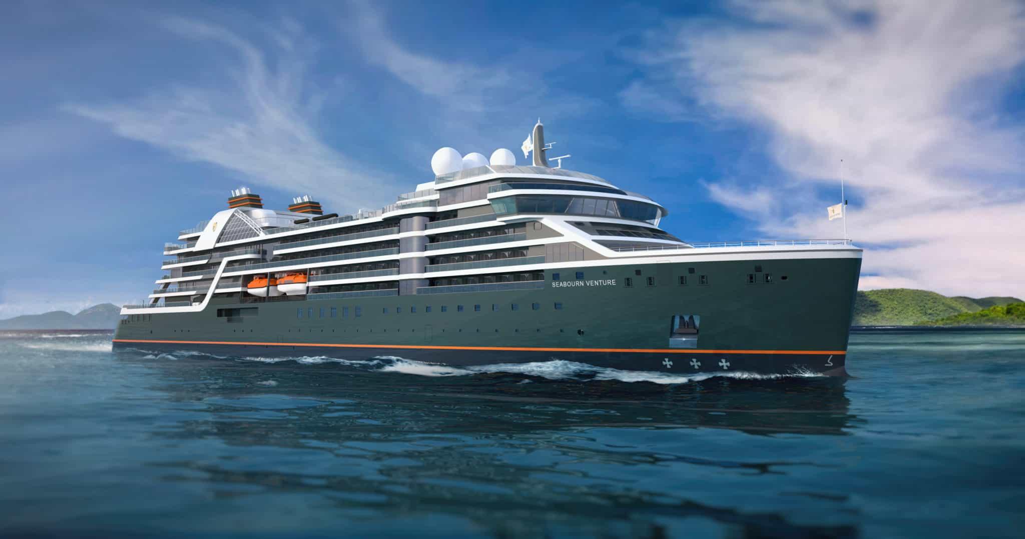 seabourn venture exterior rendering