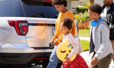 kids family vehicle uber