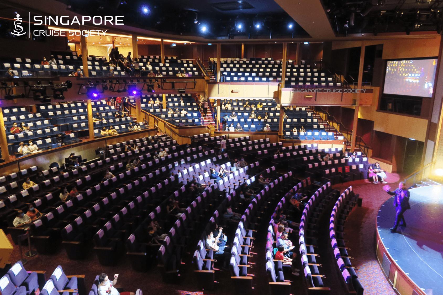 quantum of the seas singapore theater