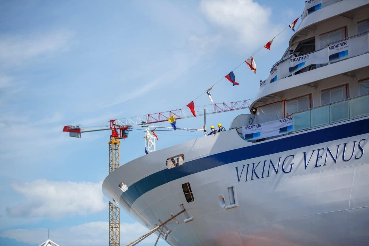 viking venus float out fincantieri