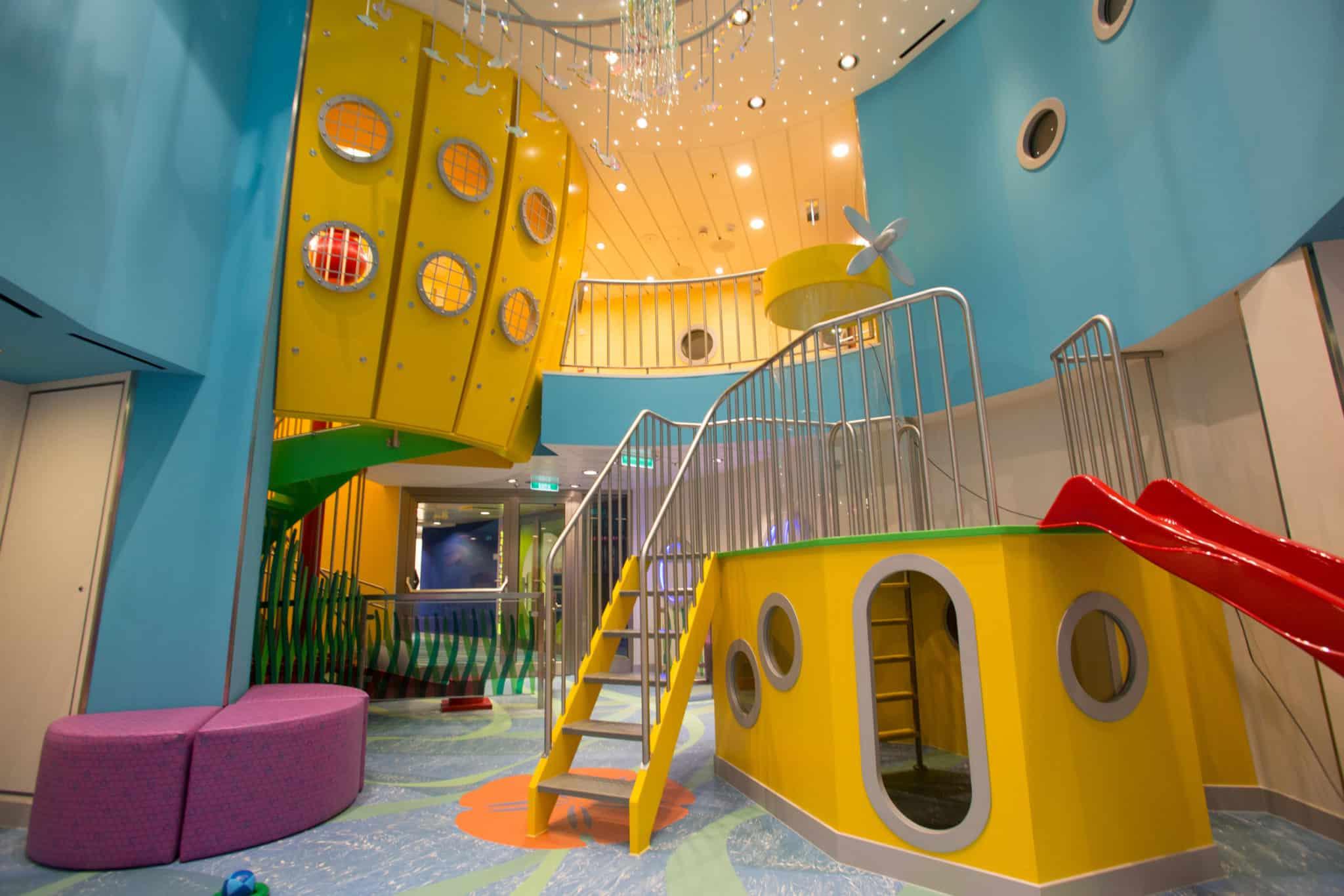 kid's club area quantum of the seas