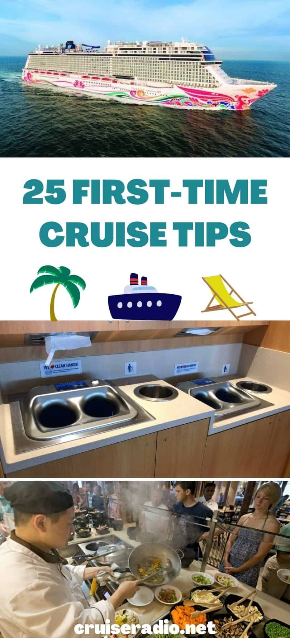 25 first time cruise tips
