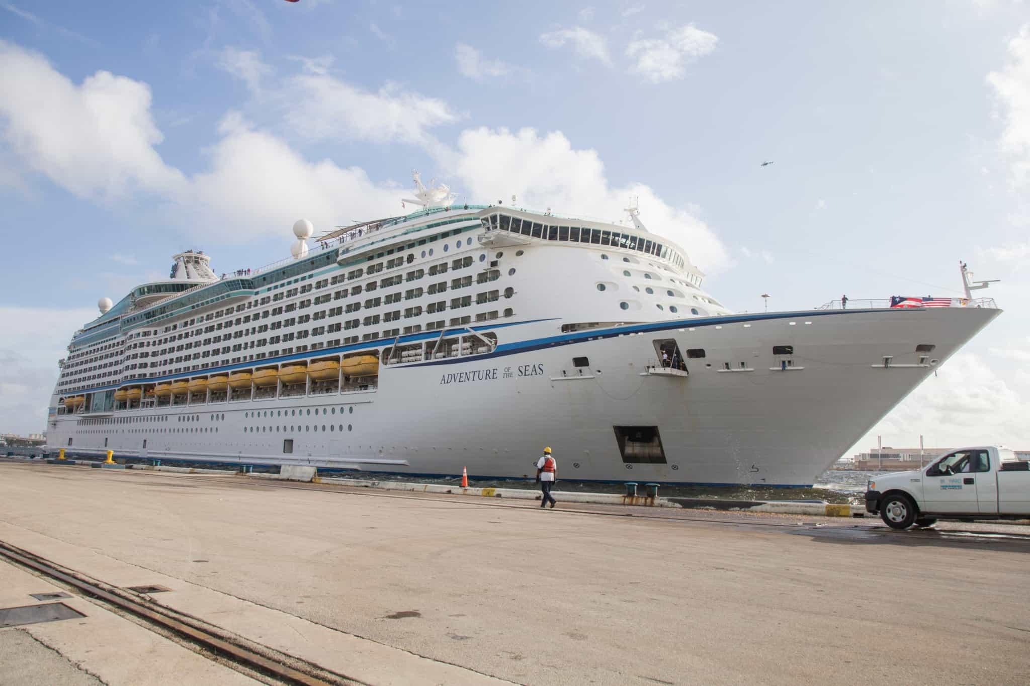 adventure of the seas port everglades florida