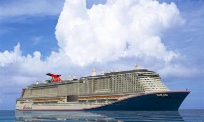 Carnival Begins Construction on Next Mega Cruise Ship
