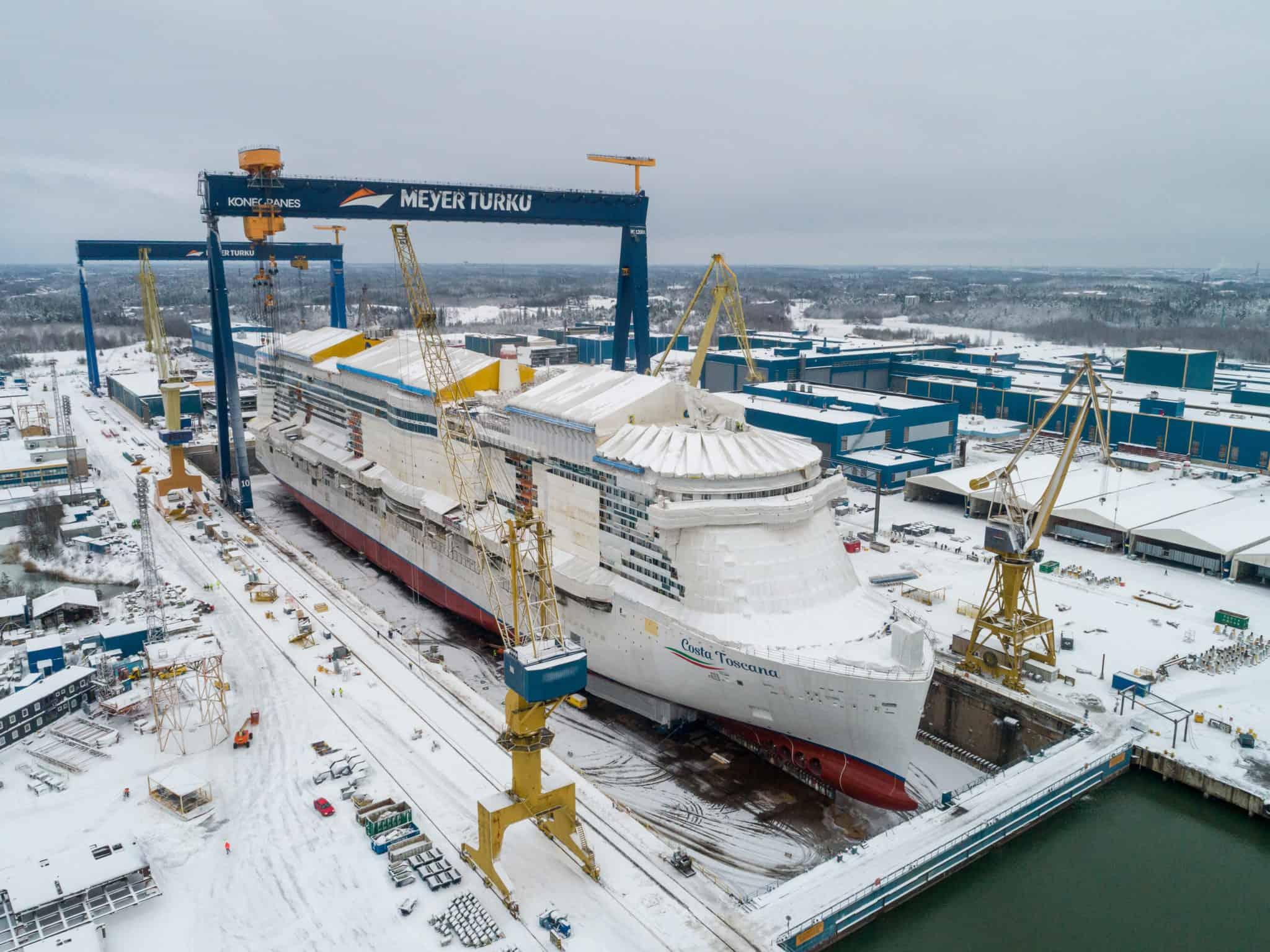 costa toscana meyer turku shipyard