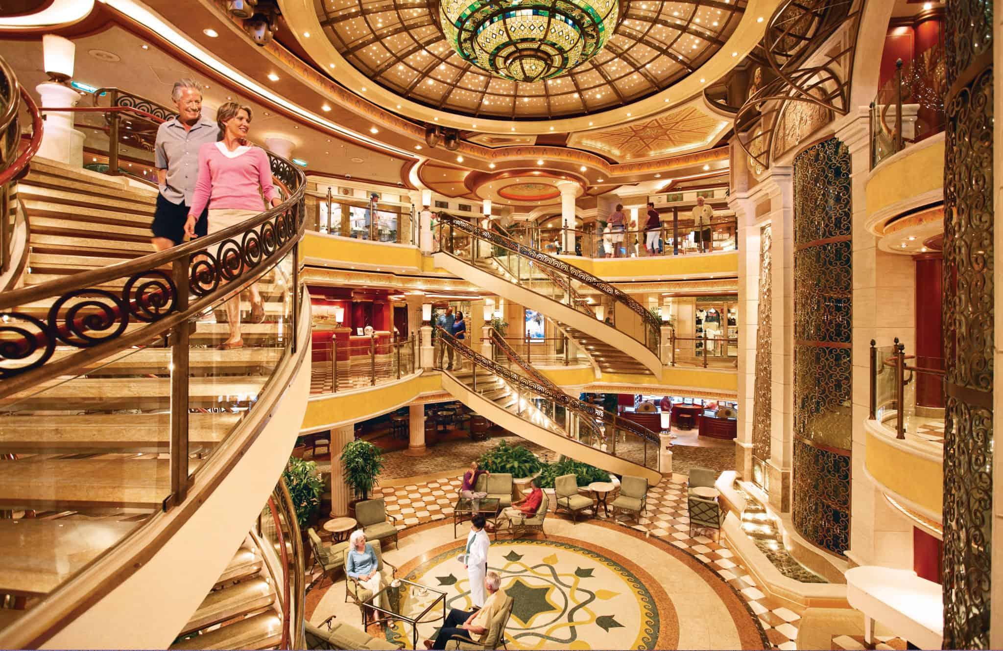 princess cruises piazza atrium
