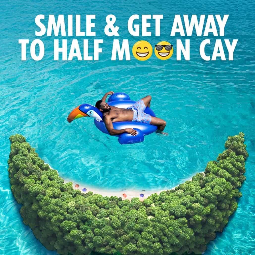half moon cay ad carnival