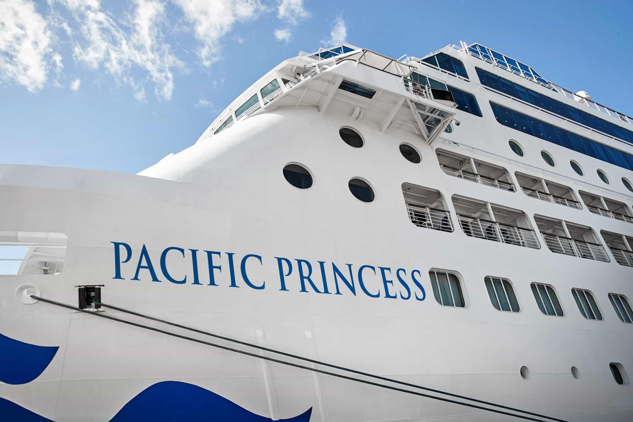 pacific princess exterior ship