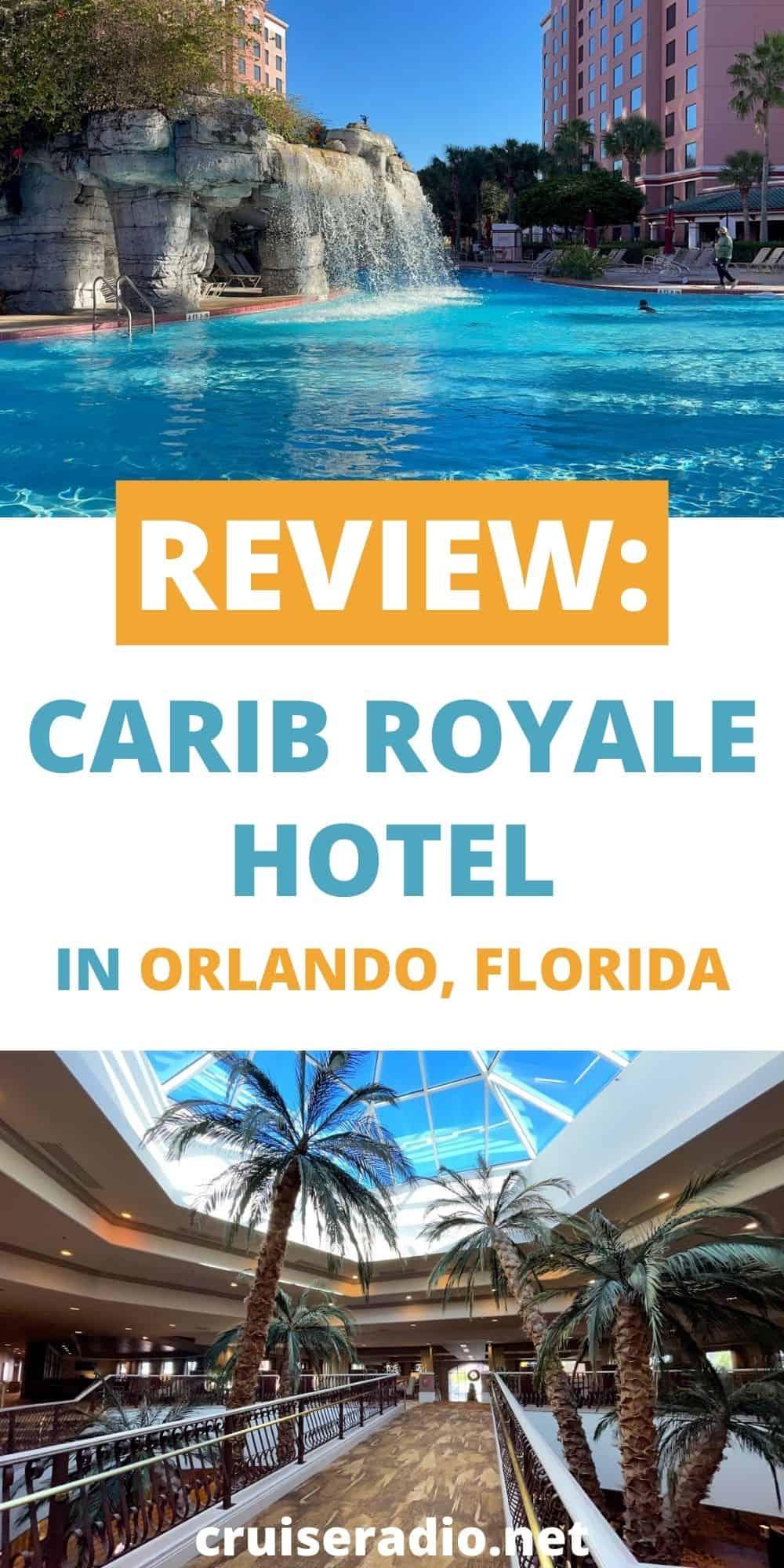 review: carib royale hotel orlando florida