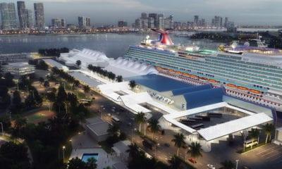 Carnival new terminal rendering port miami