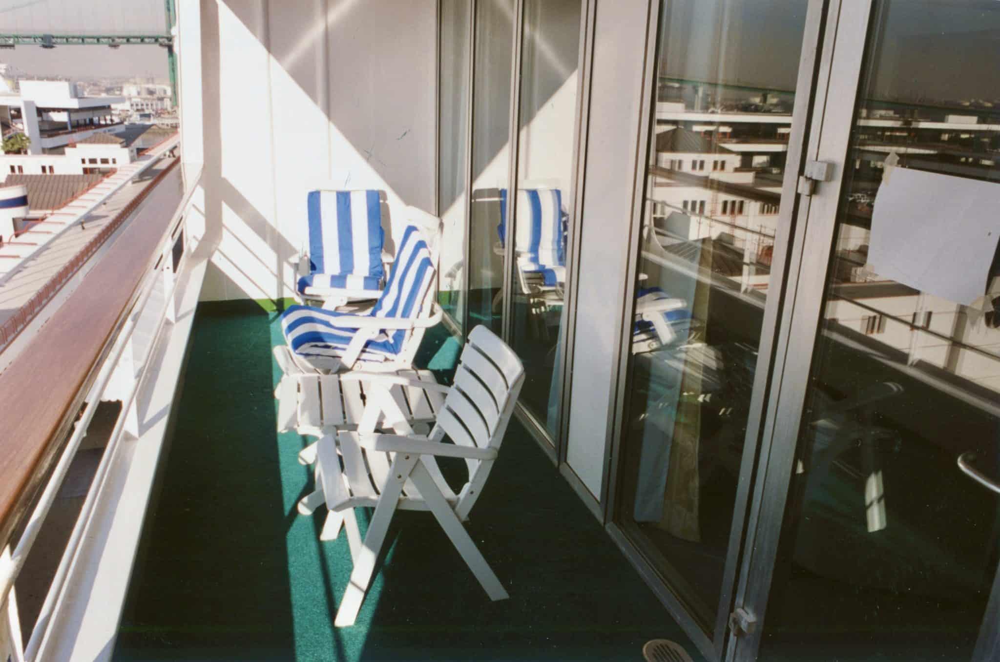 St. Tropez Suite balcony.