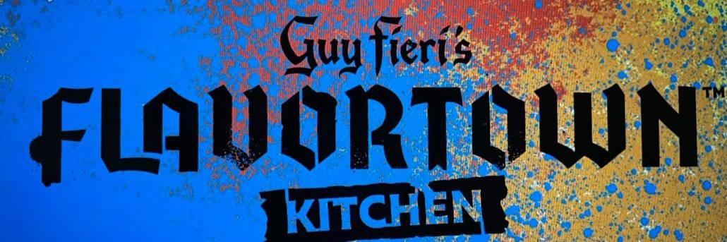 guy fieri flavortown kitchen logo