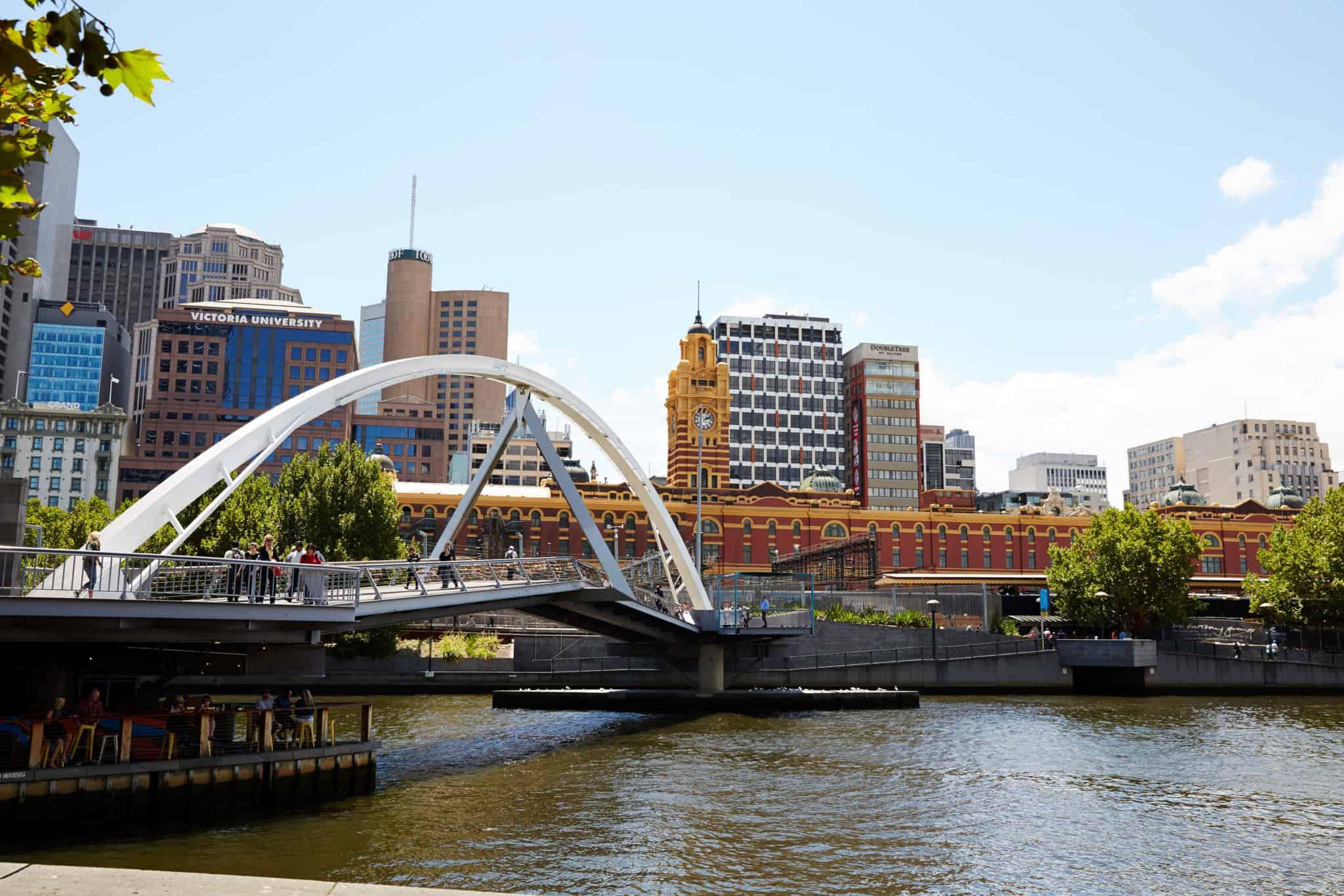bridge melbourne australia