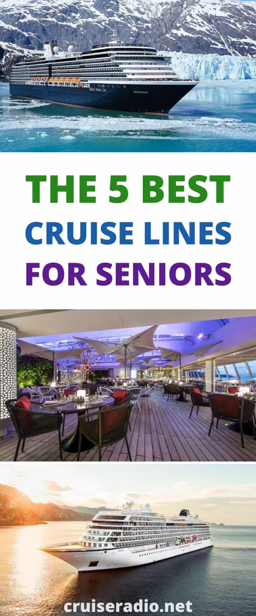 5 best cruise lines for seniors