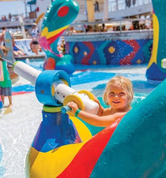 kids children cruise water park allure of the seas