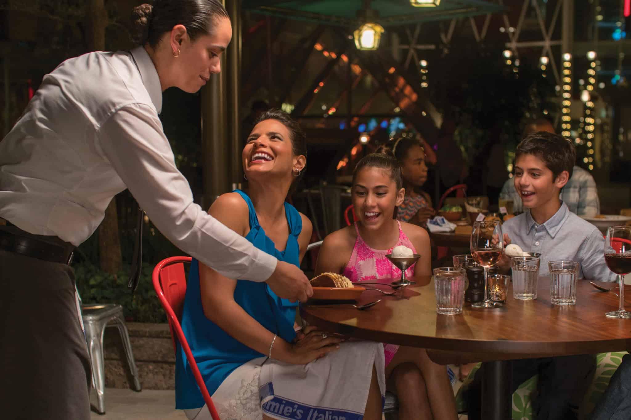 kids children specialty dining harmony of the seas jamie's italian