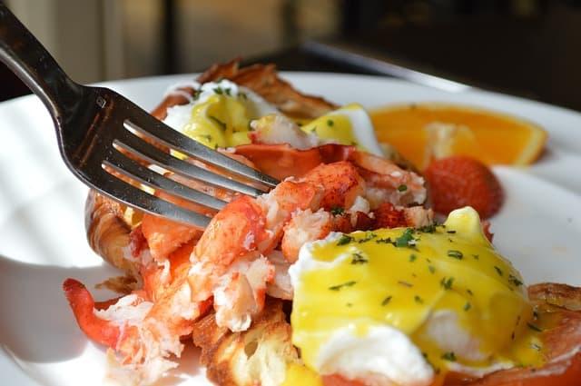 Lobster Portland Maine Brunch