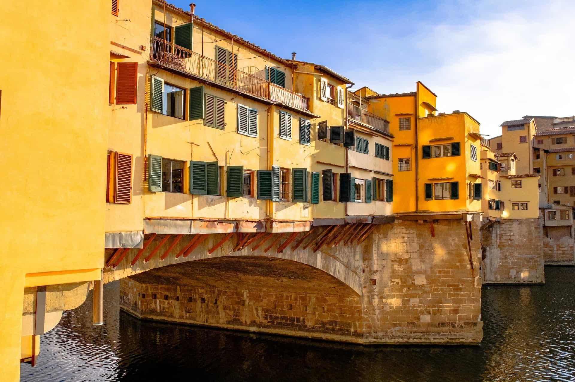 Ponte Vecchio florence italy pixabay