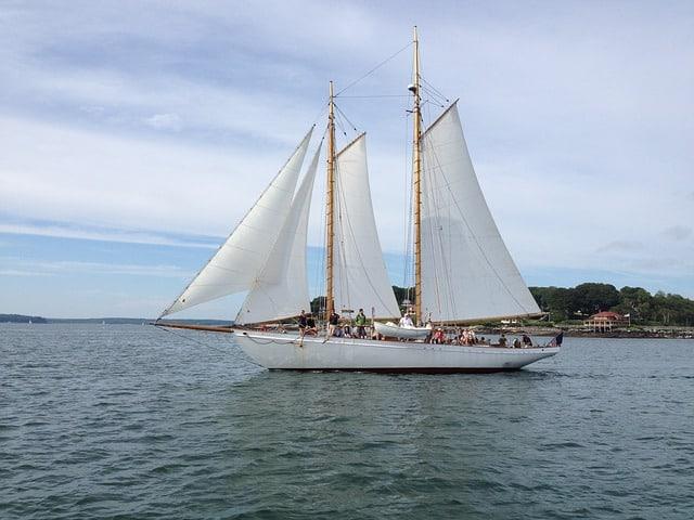 Portland Maine Sailboat Tour
