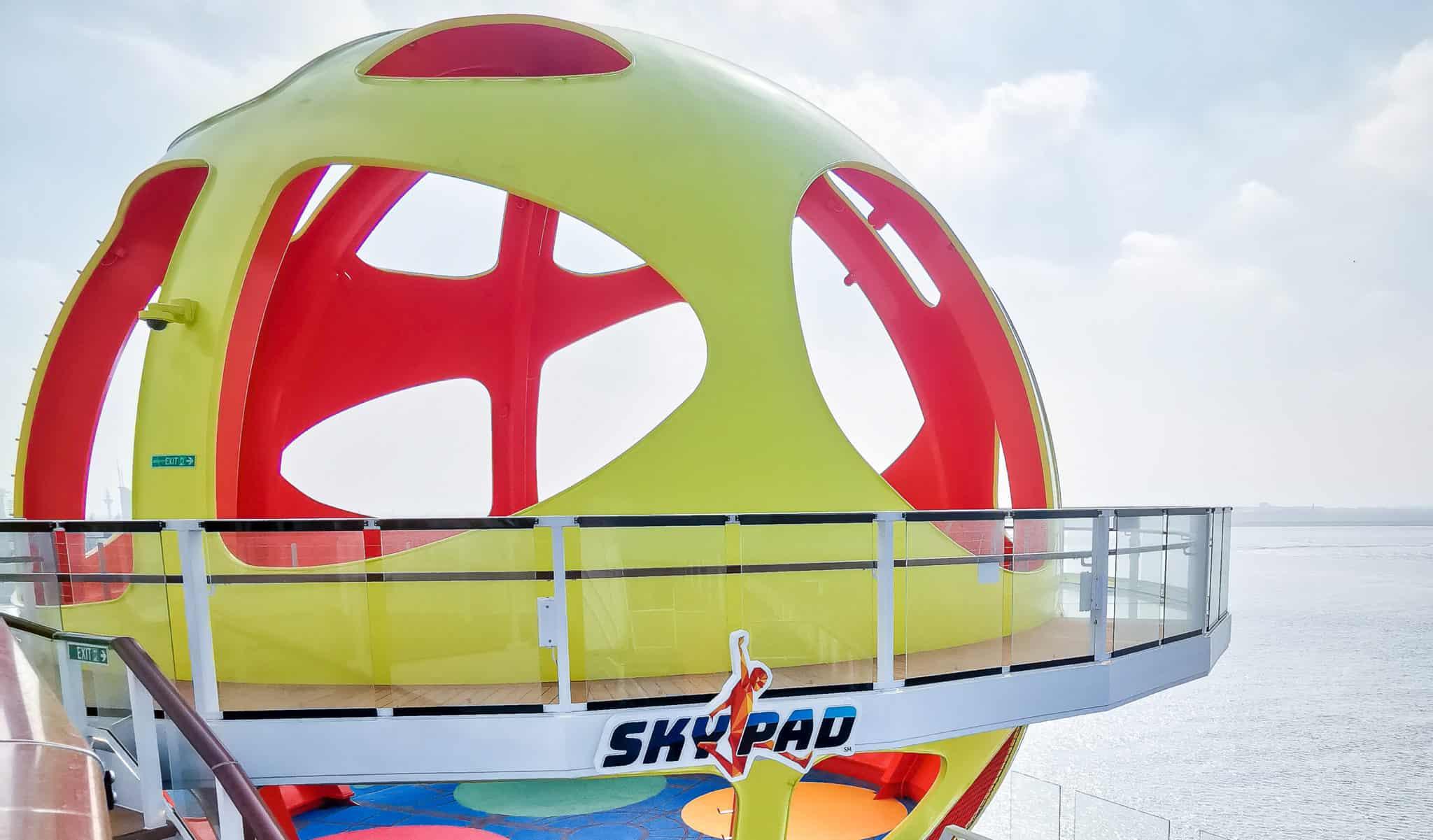 sky pad bungee trampoline royal caribbean