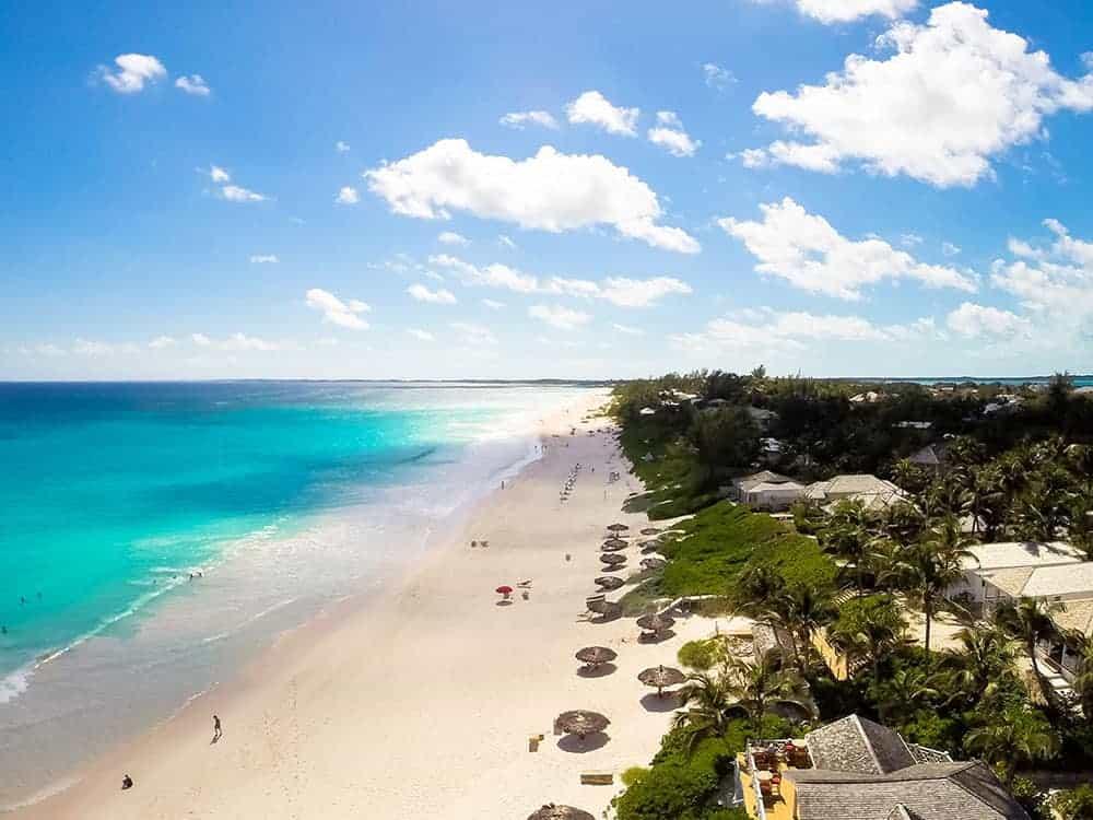 coral sands resort bahamas beach