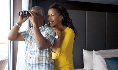 holland america suite cabin binoculars