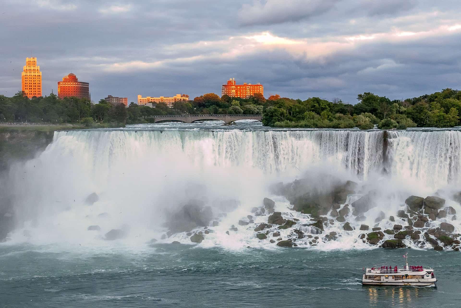 niagara falls canada new york waterfall