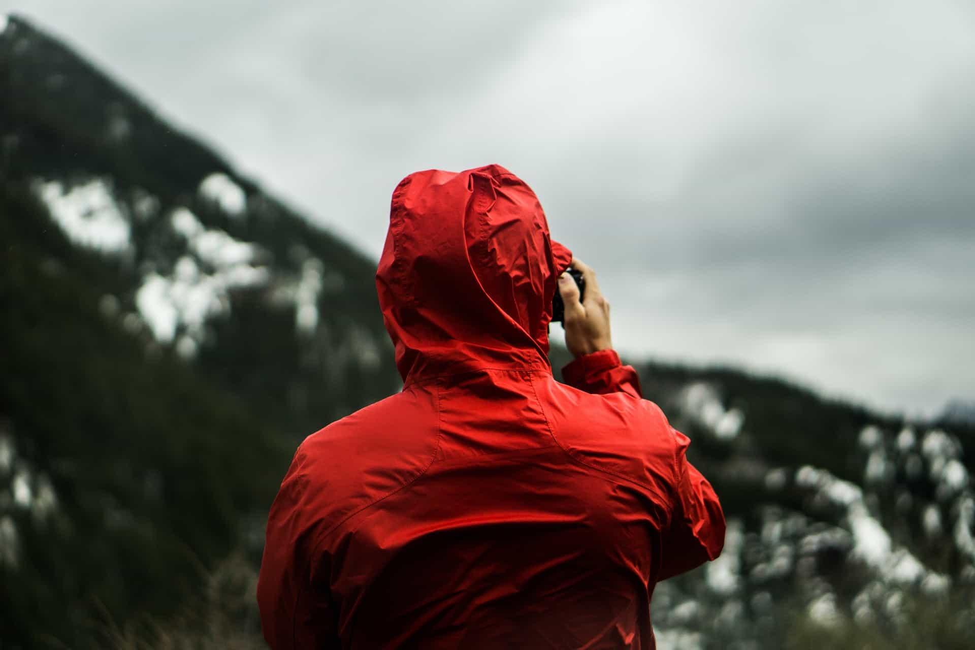raincoat alaska mountain