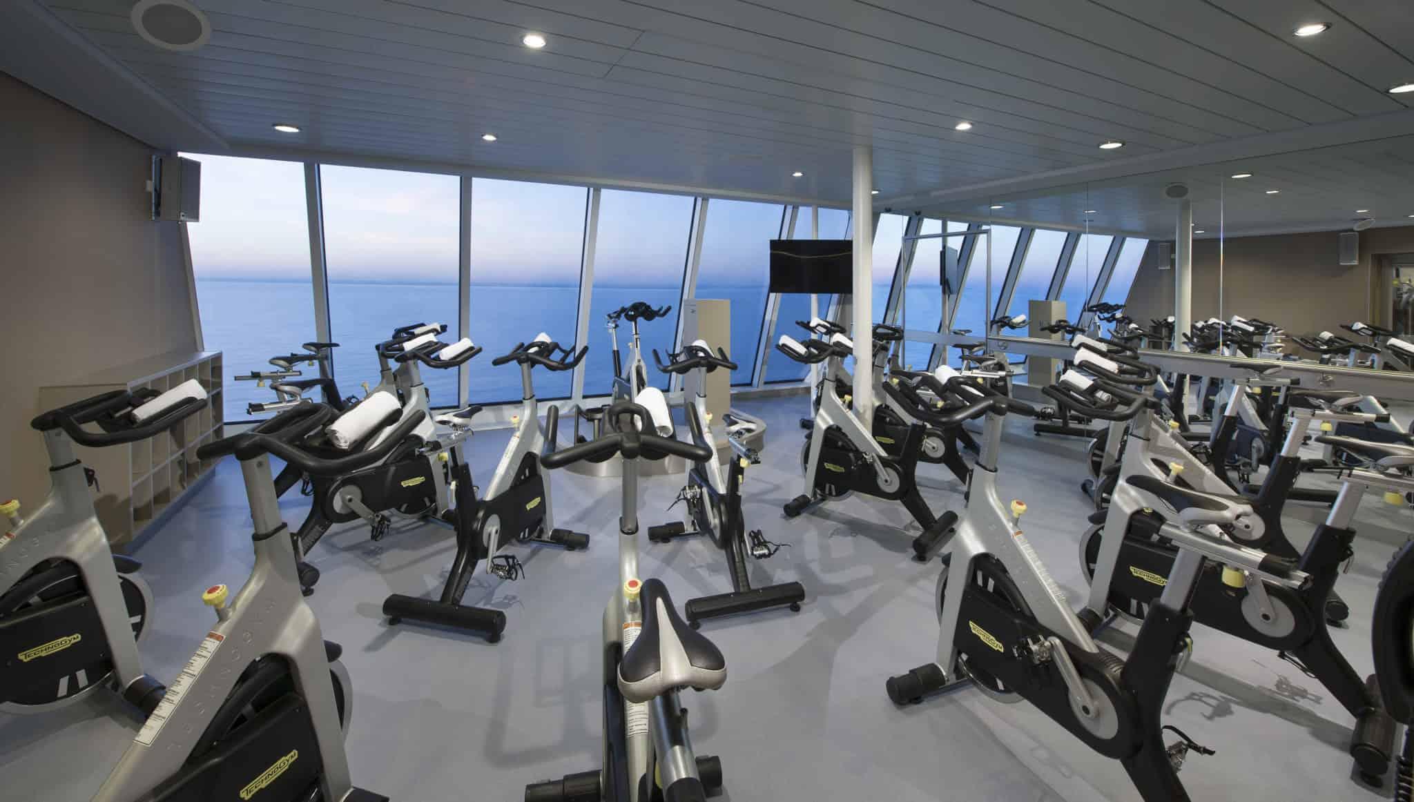 anthem of the seas fitness center