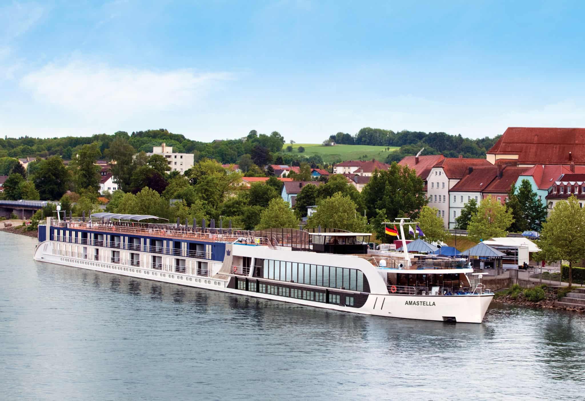 amastella amawaterways vilshofen germany river ship