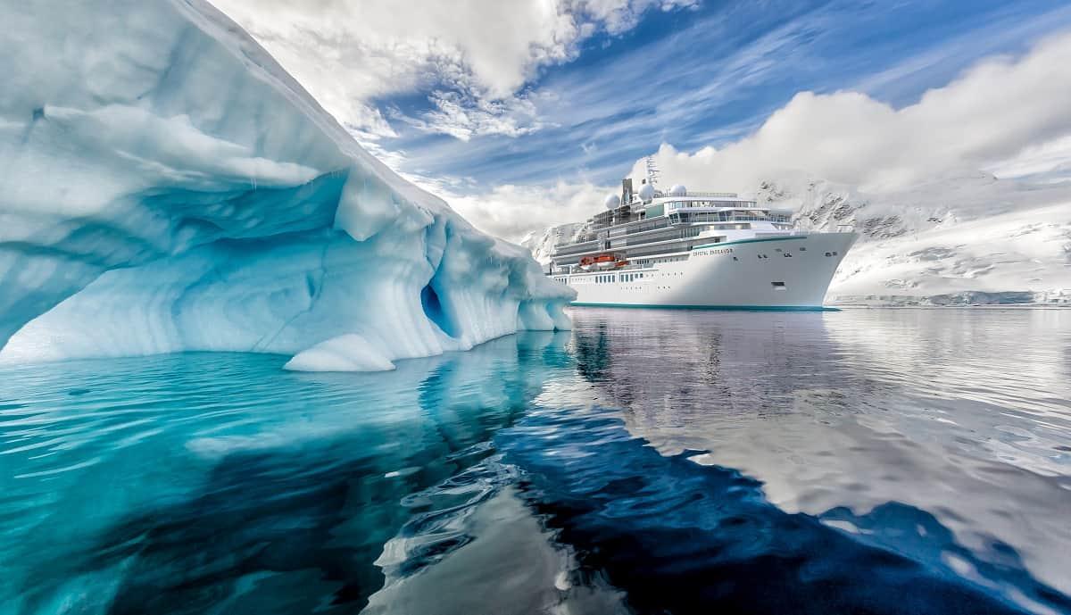 crystal endeavor iceberg rendering