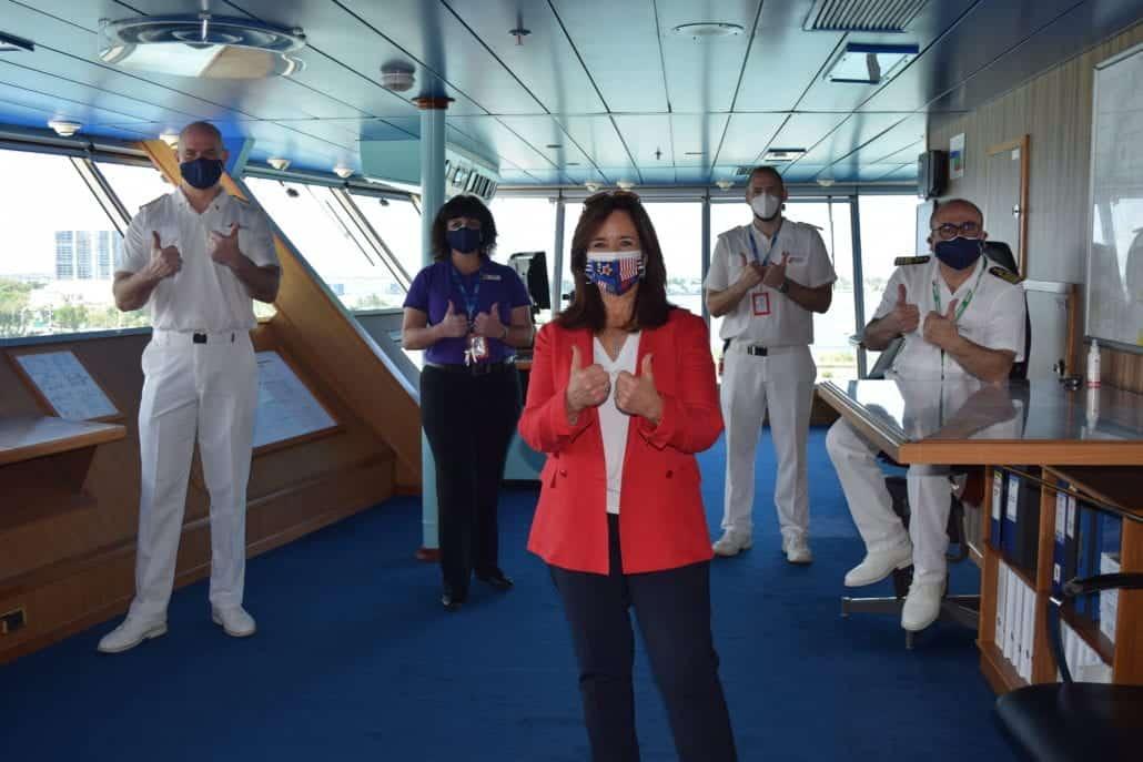christine duffy bridge officers carnival sunshine
