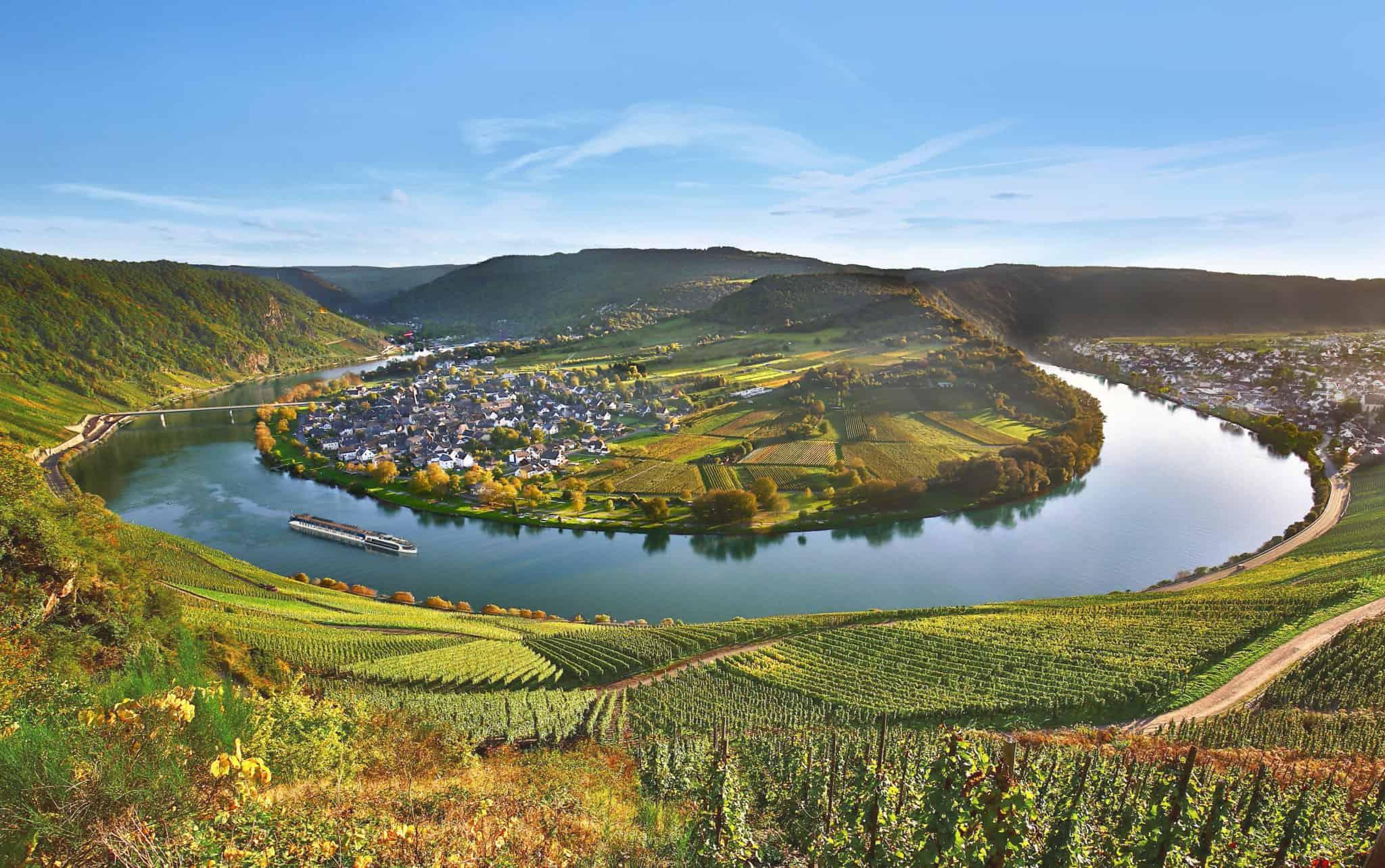 moselle loop river cruise vineyards