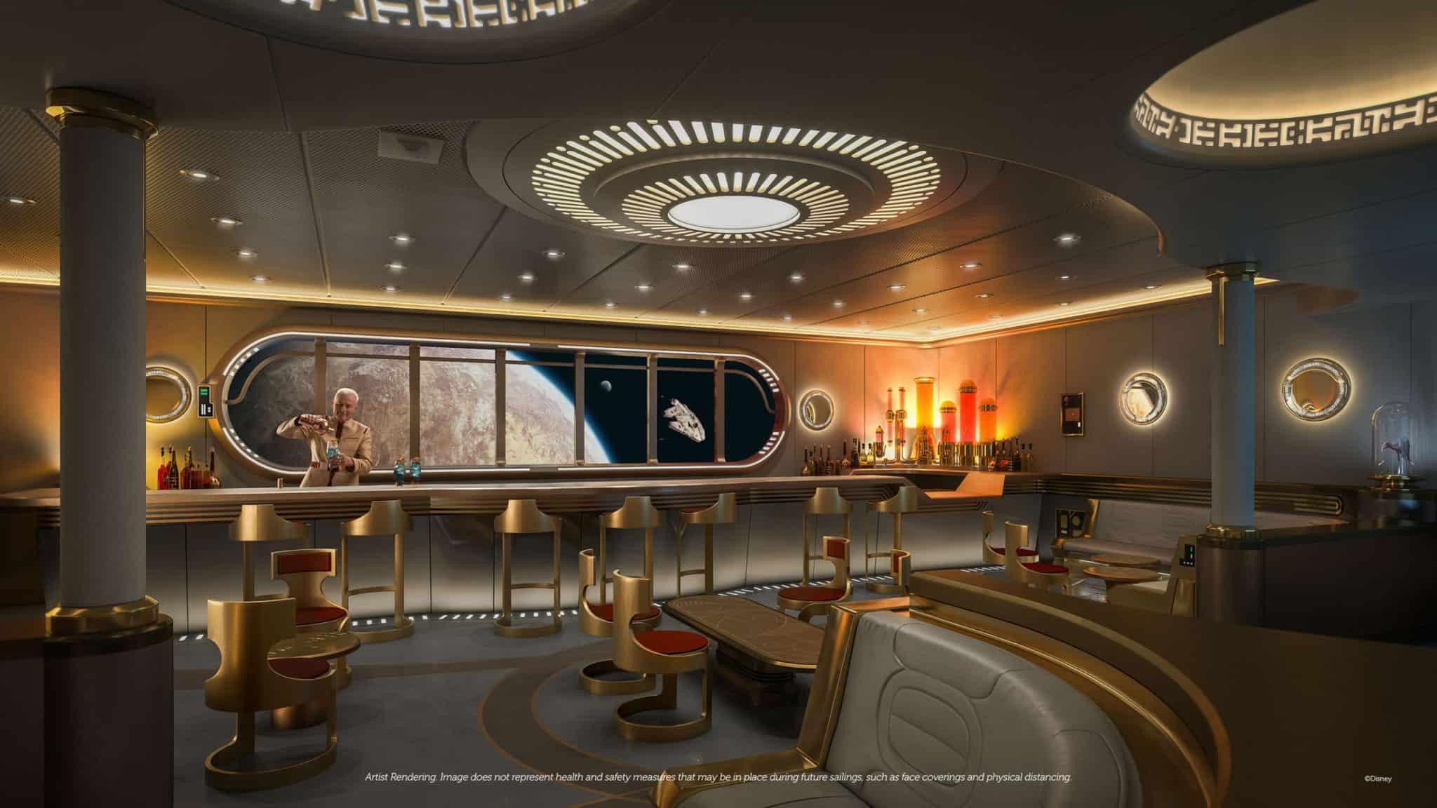 star wars hyperspace lounge disney wish
