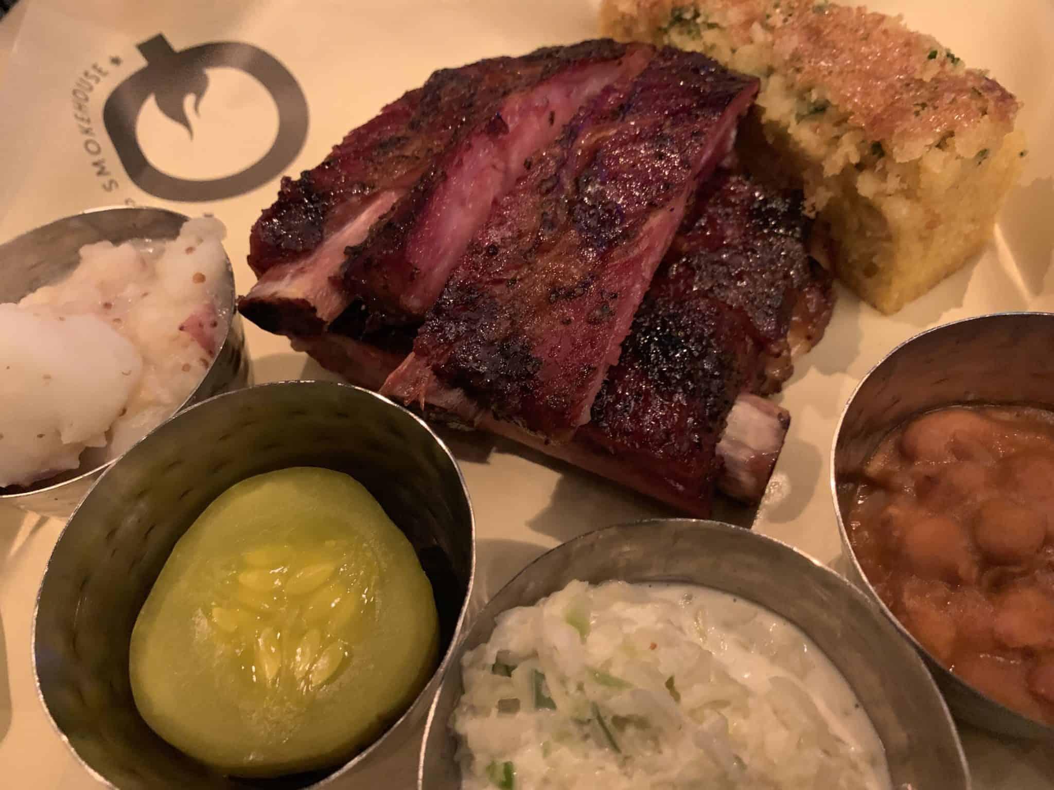 q texas smokehouse meal norwegian joy