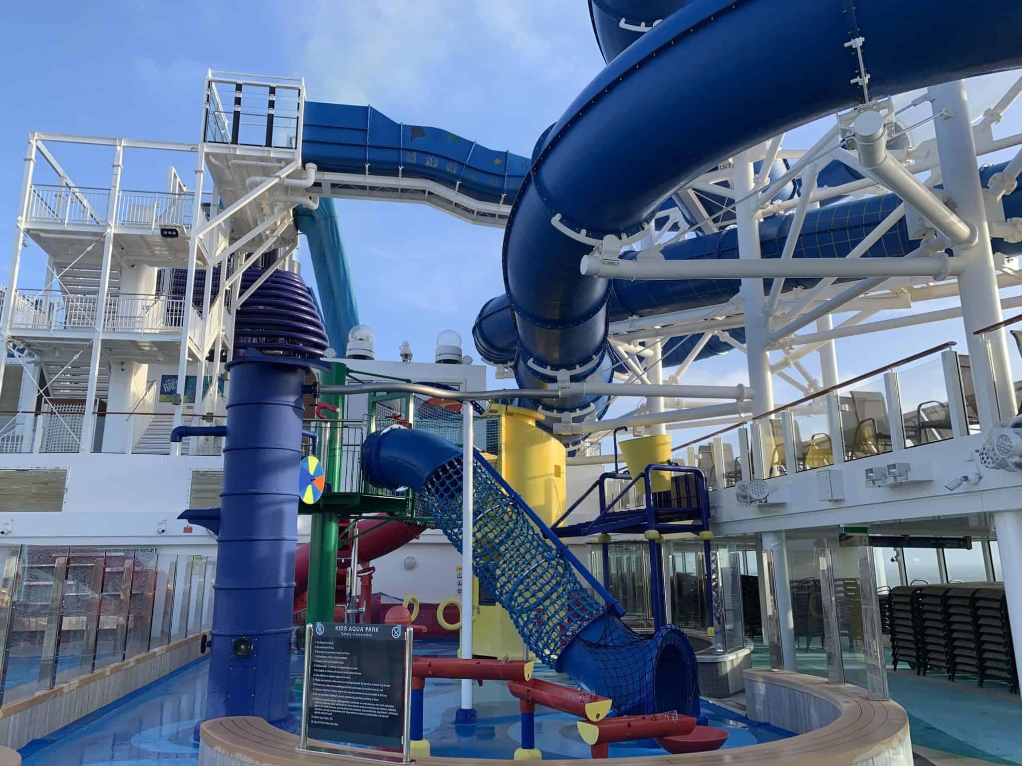 norwegian joy water slides