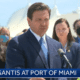 florida governor ron desantis at port miami