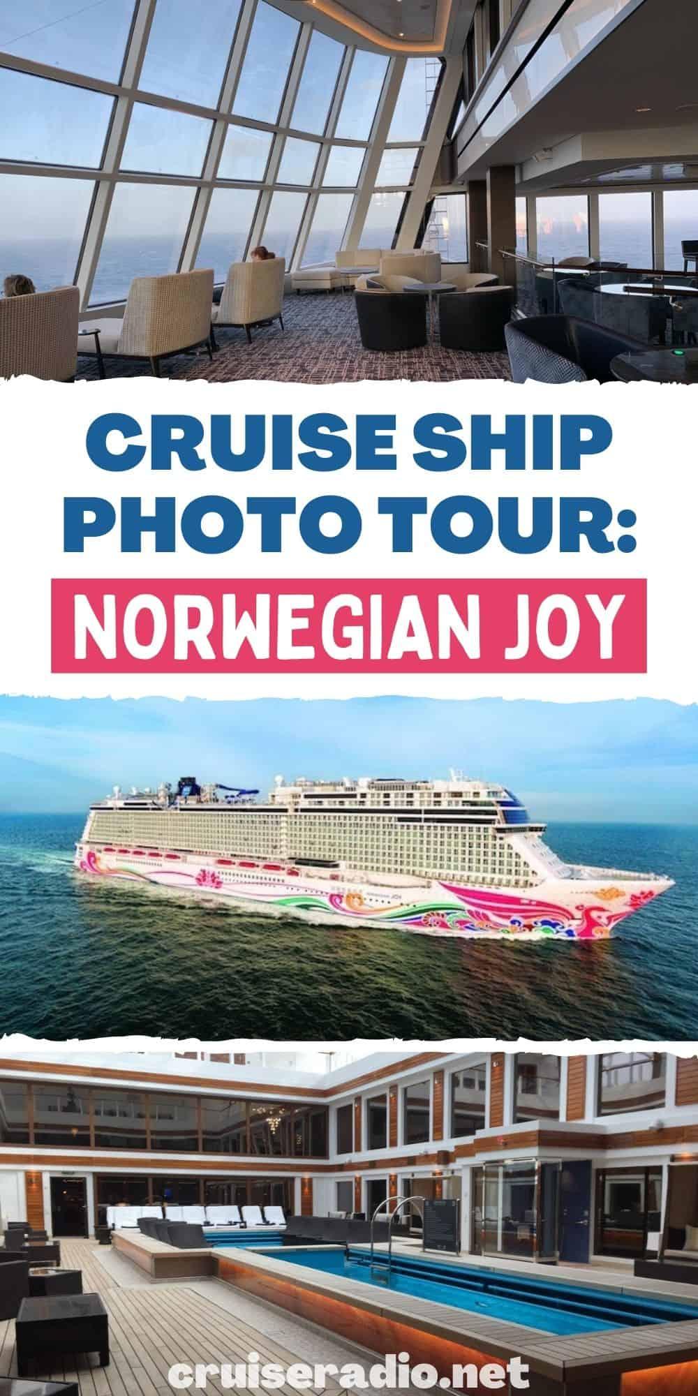 cruise ship photo tour norwegian joy