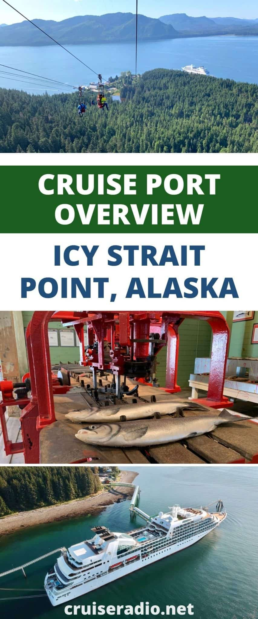 cruise port overview: icy strait point, alaska